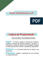 Aulas Introdutórias a Logica de Programação