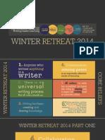 Winter Retreat 2014 Slides