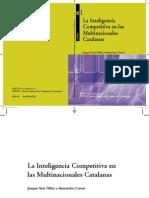 La inteligencia competitiva en las multinacionales catalanas, Tena y Comai