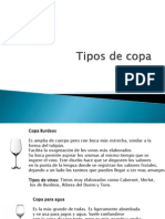 Tipos de Copa Martinez Banda