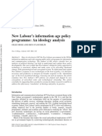 ra01-new labours information age policy programme  an ideology analysis