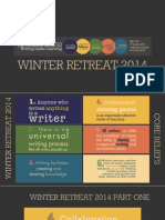 Winter Retreat 2014 Slides Final