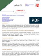 PIC - Capitulo 3 - Conjunto de Instruções