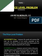 Price Level Problem