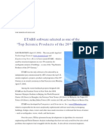 ETABS Software Wins Top Seismic Products Prize