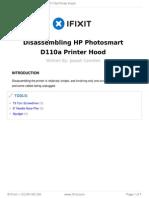 Desarmar Hp D110a