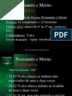 Apresentação_Projeto Prêmio ao Mérito