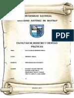 CARÁTULA E INTRODUCCIÓN DE PENAL