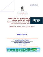 Guidelines for Geotechnical Engineering Organisation in Zonal Railways
