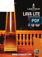 Lava Heat Italia - Lava Lite patio heater - Owners Manual