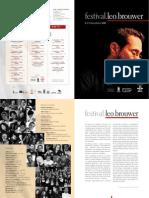 Festivalleobrouwer Programa