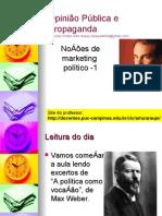 Aula 5 - Noçoes de Marketing Político - 1