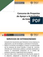 Concurso de Proyectos de Apoyo a Actividades de Extensionismo Tecnológico