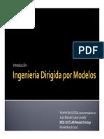 Ingenieria Dirigida Por Modelos