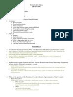 CHINAStudy Guide2013