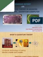 Quantum Theory in Modern Computer_quantum Computer