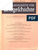 VIERTELJAHRSHEFTE FÜR ZEITGESCHICHTE