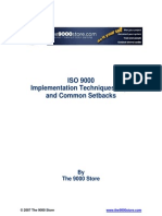 ISO 9000 Implementation Tips & Techniques