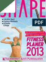 Fitnesskalender-2013