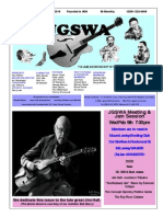 Jazz Guitar Society of Western Australia News Letter