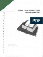 Redacción de reactivos - Cap-1