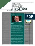 ADMINISTRAÇÃO E LOGÍSTICA_ As 10 lições que o papa Francisco nos ensinou sobre liderança