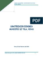 Caracterización Económica Tola