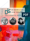 Disability Law Center 2013 Annual Report