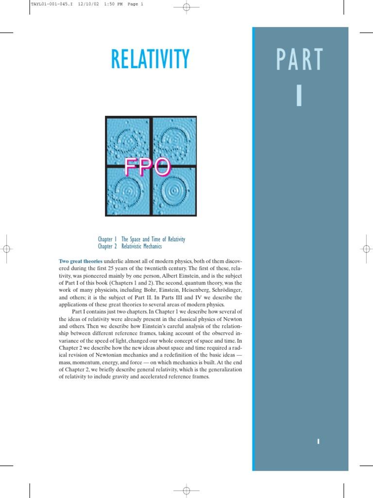 Modern Physics | General Relativity | Luminiferous Aether
