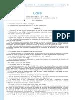 Loi Jardé - JO 6 mars 2012