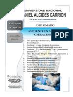 Programa - Asistente en Sala de Operaciones - Undac