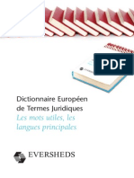French Selected Legal Terms