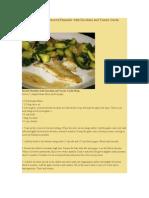 A Mexican Fiesta Flounder Zucchini