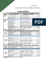 Mesas de Examenes Febrero 2014