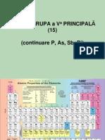 8. Grupa VA(15)(P, As, Sb, Bi)