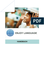 Enjoy Language within tourism Handbook in German