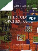 Adler - Orchestration  3d Edition