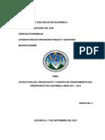 Estructura Del Presupuesto