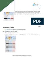 formatiranje tabela