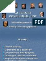 Terapia Conductual, Hoy