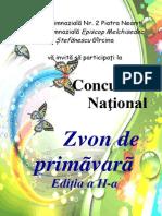 0 1 Zvon de Primavara