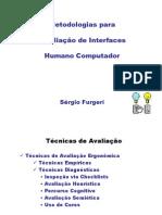 Sergio Avaliacao Interface