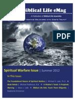 Biblical Life eMag 2 Spiritual Warfare Issue