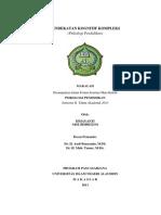 Pendekatan Kognitif Kompleks (Psikologi Pendidikan)