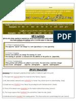 Prefix / Suffix (Teacher Key)
