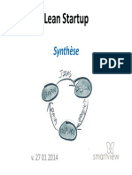 Lean Startup - Synthèse SMARTVIEW - jan 2014