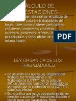CÁLCULO DE PRESTACIONES