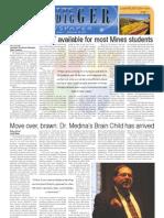 The Oredigger Issue 04  - September 28, 2009