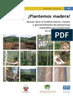 Plantemos Madera