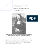 Leonardo Da Vinci's Great Water Projects